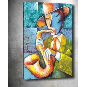 Obraz Tablo Center Saxophone, 50x70cm