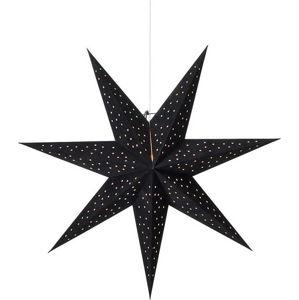 Černá závěsná světelná dekorace Markslöjd Clara,výška75 cm