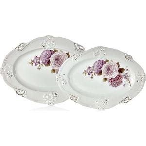 Sada 2 porcelánových talířů Franz Dmitry