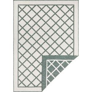 Zeleno-krémový venkovní koberec Bougari Sydney, 80 x 150 cm