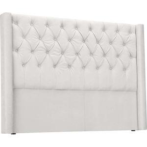 Čelo postele v stříbrné barvě Windsor & Co Sofas Queen, 176 x 120 cm
