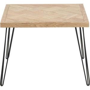 Černo-hnědý odkládací stolek Actona Maidstone