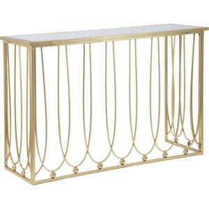 Konzolový stolek s železnou konstrukcí Mauro Ferretti Alesandra, 120x43cm