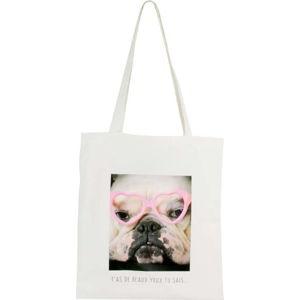 Bavlněná plátěná taška přes rameno LeStudio As De Beaux Yeus