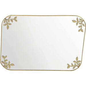 Dekorativní zrcadlo ve zlaté barvě A Simple Mess