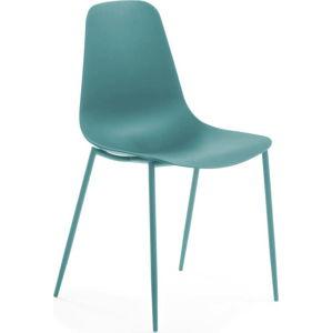 Tyrkysová jídelní židle La Forma Wassu