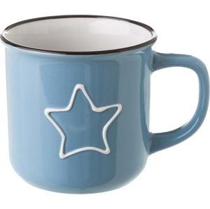 Modrý keramický hrnek Unimasa Star, 325 ml