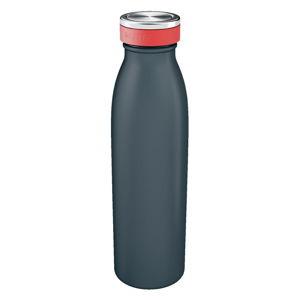 Šedá láhev na vodu Leitz Cosy, objem 0,5 l