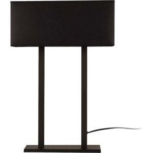 Černá stolní lampa s černým podstavcem Way Surf III
