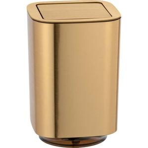 Odpadkový koš do koupelny ve zlaté barvě Wenko Auron