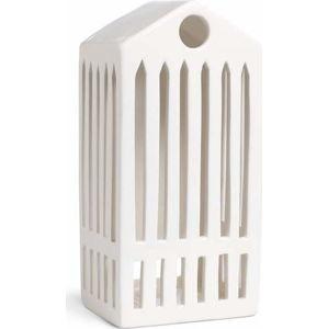 Bílý keramický svícen Kähler Design Urbania Lighthouse Pantheon