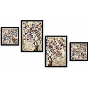 Vícedílný obraz Tree, 136x75 cm