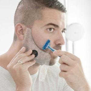 Šablona na střihání vousů InnovaGoods Hipster Barber