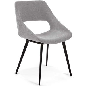 Světle šedá jídelní židle La Forma Hest