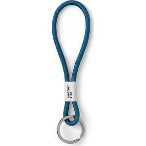 Modré poutko na klíče Pantone