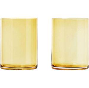 Sada 2 sklenic ve zlaté barvě Blomus Mera, 220ml