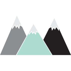 Nástěnná samolepka Dekornik Pastel Mountains, 150x83cm