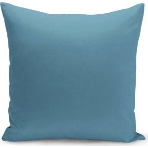 Modrý polštář s výplní Lisa, 43 x 43 cm