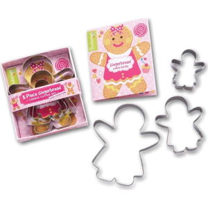 Sada 3 vykrajovátek Cooksmart ® Gingerbread Girl