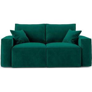 Tmavě zelená dvoumístná pohovka Cosmopolitan Design Florida