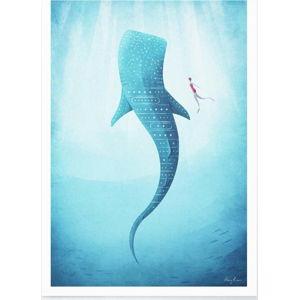 Plakát Travelposter Whale Shark, A2