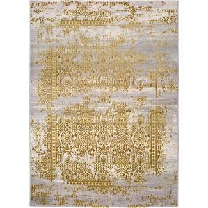 Šedo-zlatý koberec Universal Arabela Gold, 160x230cm