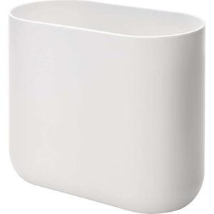 Bílý odpadkový koš iDesign Cade, 9,5l