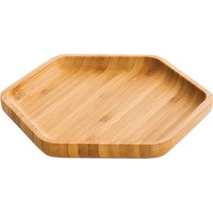 Bambusový servírovací talíř Bambum Hexa