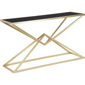 Konzolový stolek s železnou konstrukcí Mauro Ferretti Cleopatra, 130x40cm