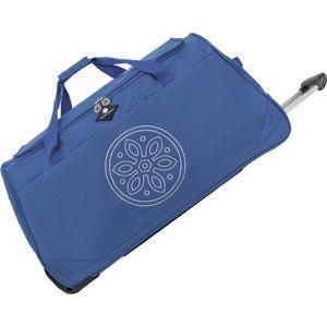 Modrá cestovní taška na kolečkách GERARD PASQUIER Miretto, 61 l