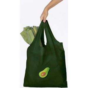 Černá nákupní taška DOIY Avocado