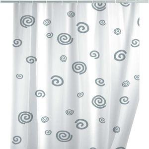 Sprchový závěs Wenko Snail, 180 x 200 cm