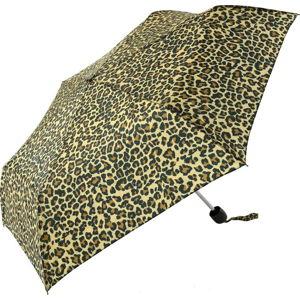 Skládací dámský deštník Ambiance Leopard, ⌀96cm