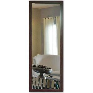 Nástěnné zrcadlo s hnědým rámem Oyo Concept,40x105cm