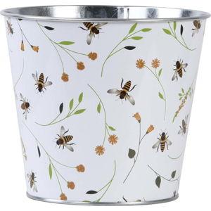 Květináč s potiskem včel Esschert Design Bee, 1,85 l