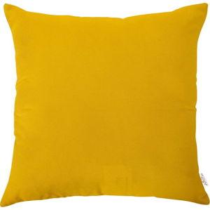 Žlutý povlak na polštář Apolena, 43x43cm