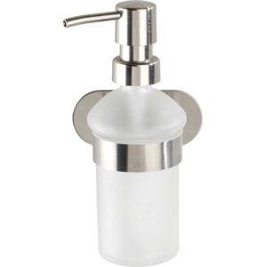 Nástěnný dávkovač mýdla ve stříbrné barvě Wenko Orea