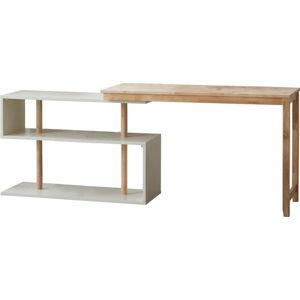 Psací stůl s variabilními poličkami DEEP Furniture Mallory