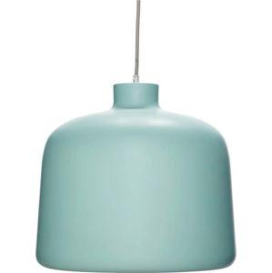 Světle tyrkysové závěsné svítidlo Hübsch Muno