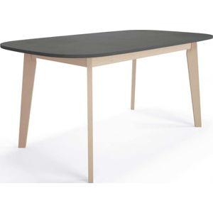Rozkládací jídelní stůl z březového dřeva Artemob Illy