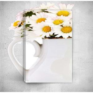 Nástěnný 3D obraz Mosticx Daisies, 40 x 60 cm