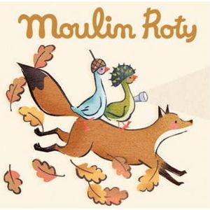 Dětské promítací kotoučky Moulin Roty Příběhy husy Olgy