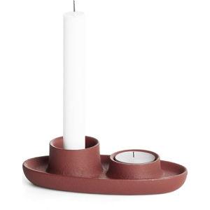 Svícen ve vínové barvě EMKO Aye Aye Three Candles