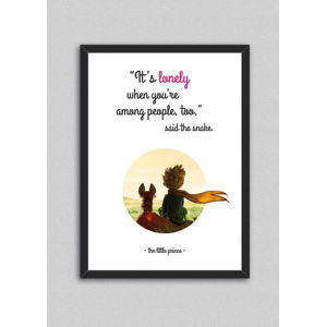Obraz North Carolina Scandinavian Home Decors Little Prince Quote V9, 33 x 43 cm