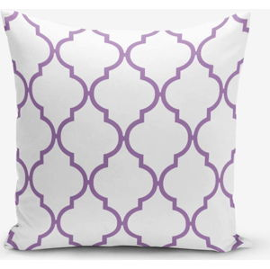 Povlak na polštář s příměsí bavlny Minimalist Cushion Covers Egea, 45 x 45 cm