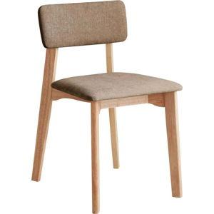 Kancelářská židle s hnědým textilním polstrováním, DEEP Furniture Max