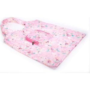 Růžová skládací nákupní taška Tri-Coastal Design Blush Bloom
