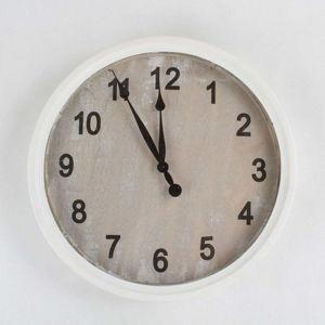 Dřevěné nástěnné hodiny Dakls, ø50,5cm