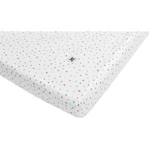Dětské bavlněné prostěradlo BELLAMY Dots, 70x140cm