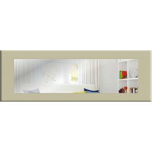 Nástěnné zrcadlo s šedobéžovým rámem Oyo Concept Eve,120x40cm